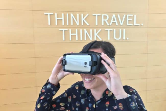 Virtual Reality with TUI Travel Agents
