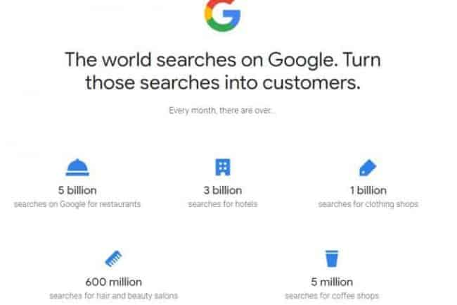 google search stats